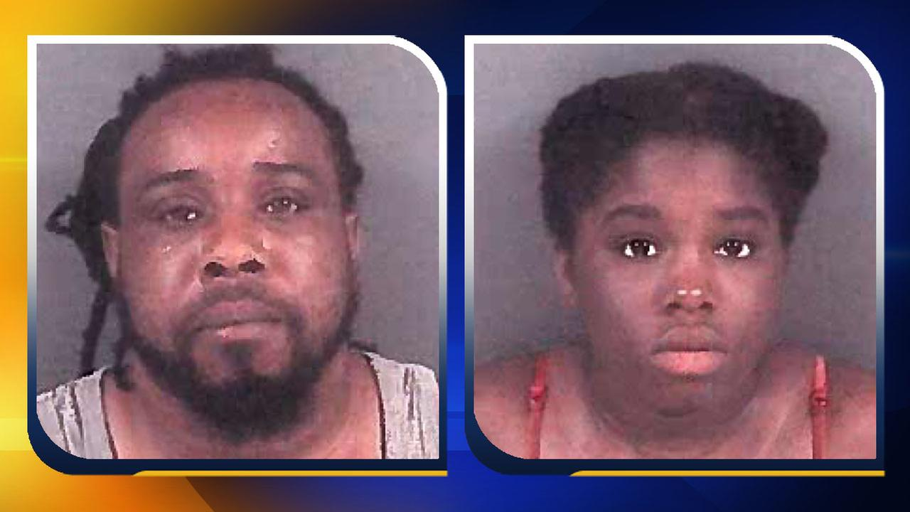 Maurice King, left, and Brittany Moore.