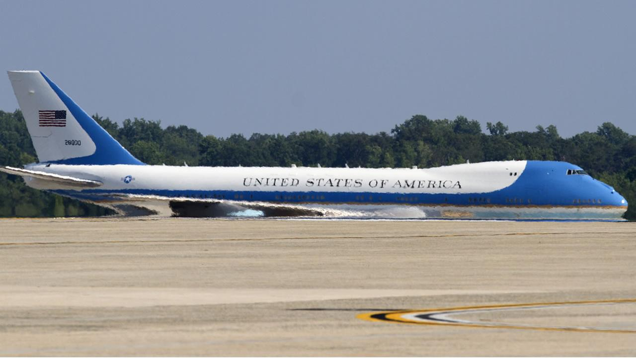 Air Force One on the tarmac at Joint Base Andrews (AP file photo/Jacquelyn Martin)