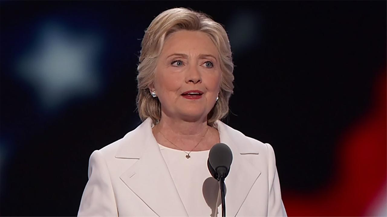 Hillary Clinton officially accepted the Democratic nomination.