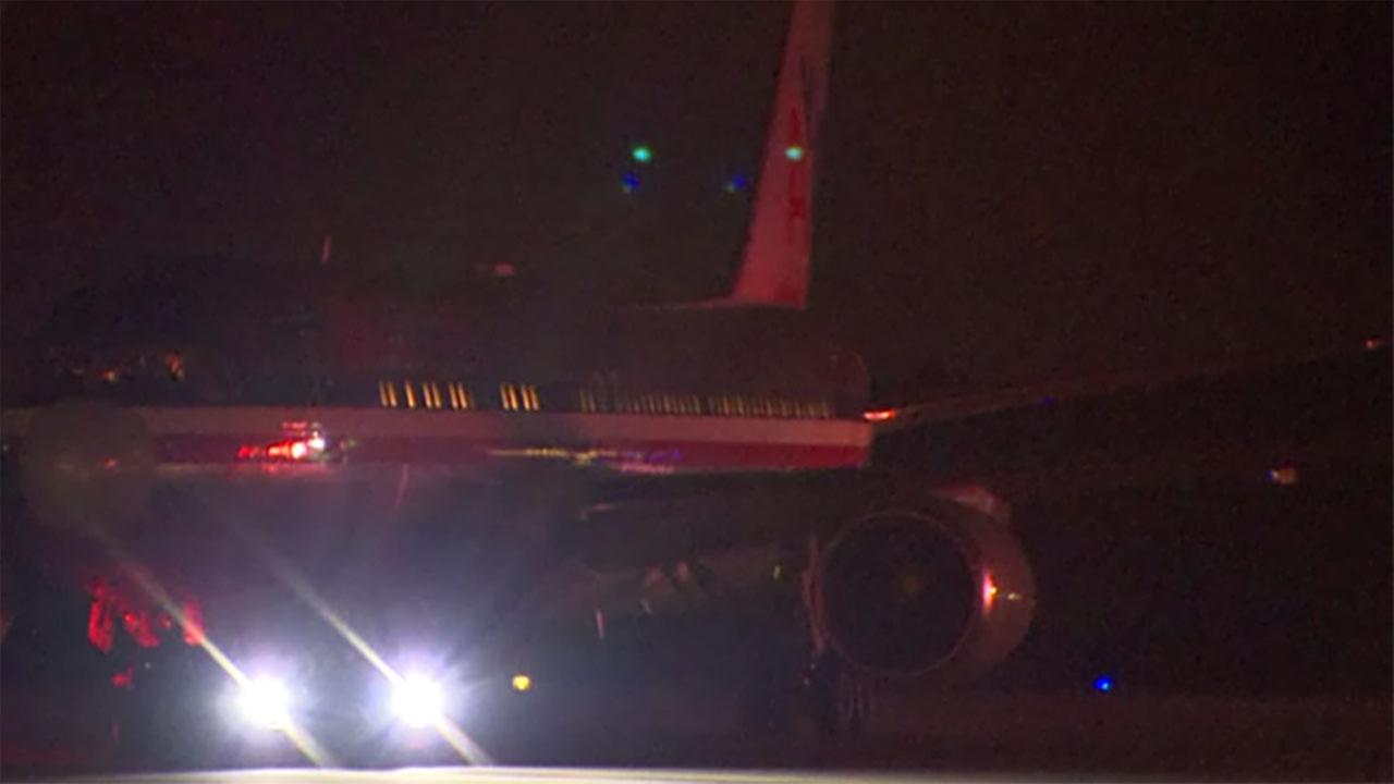 An American Airlines flight had to return to RDU on Friday night.