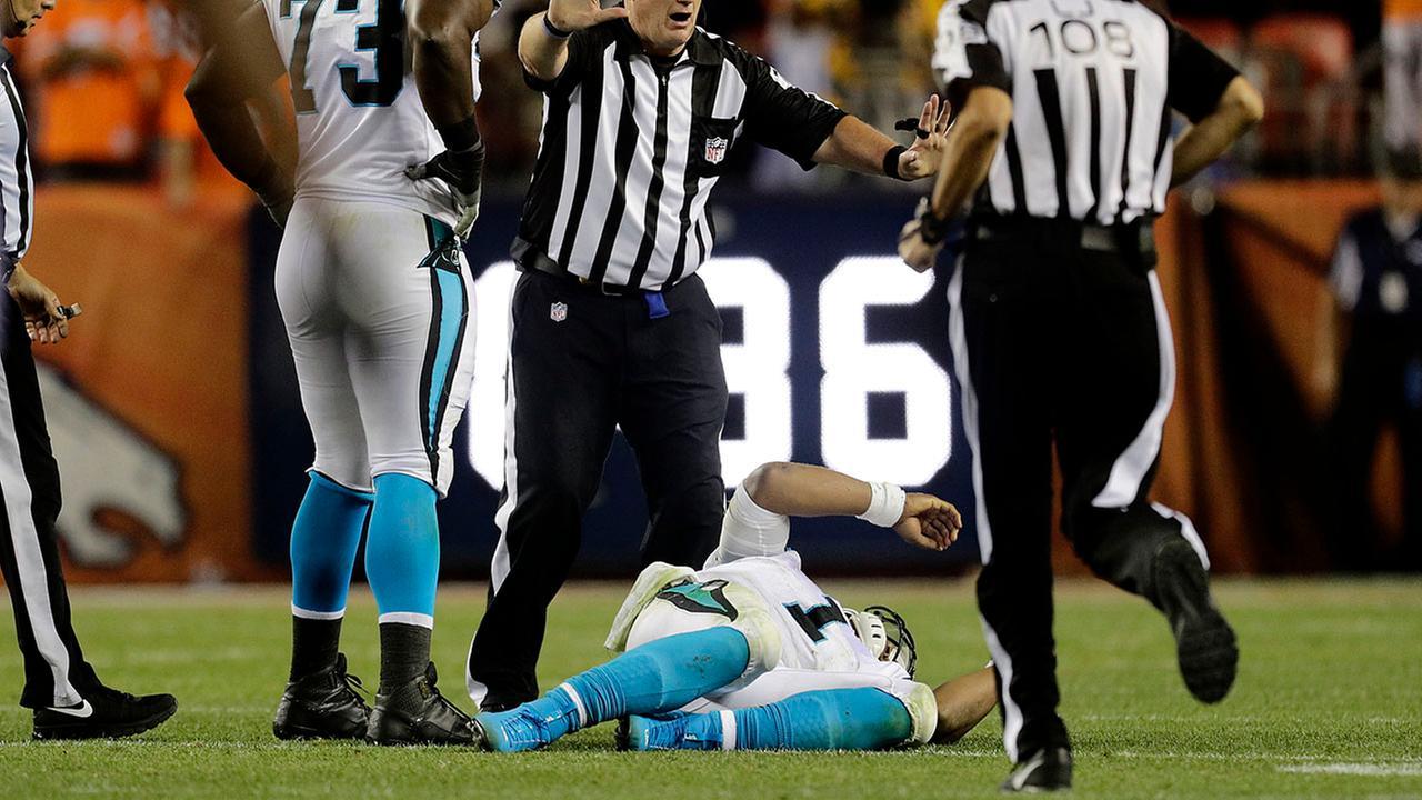 NFL NOTEBOOK: Rivera says Newton needs protection