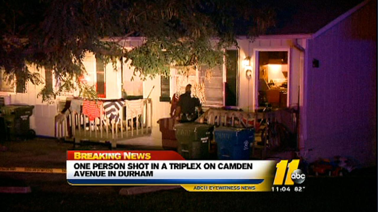 Camden Avenue shooting in Durham