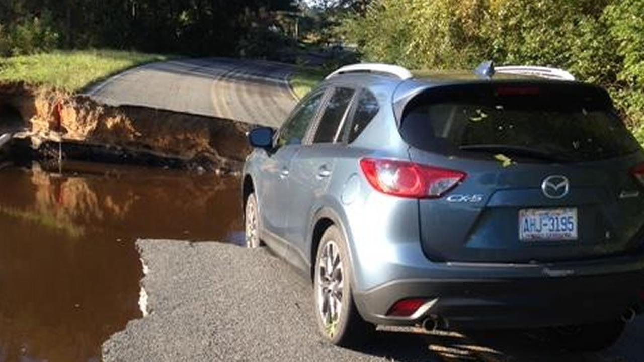 Woodpeck Road, Wayne County (ABC11 Eyewitness Photo)