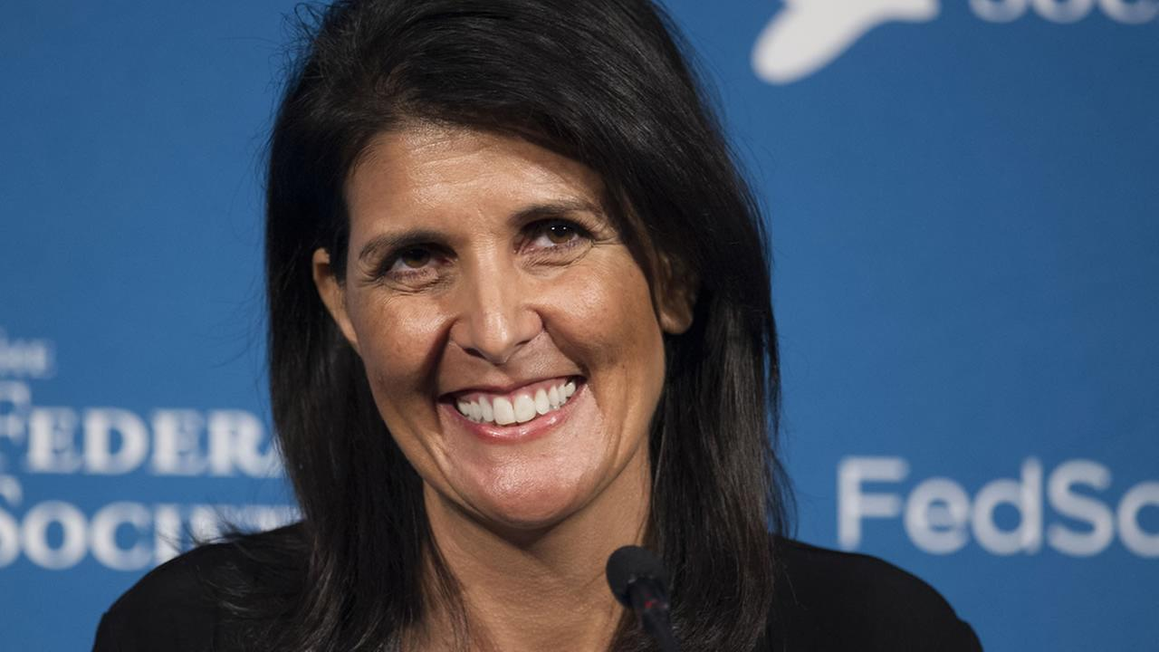 Trump taps Gov. Nikki Haley for ambassador to UN
