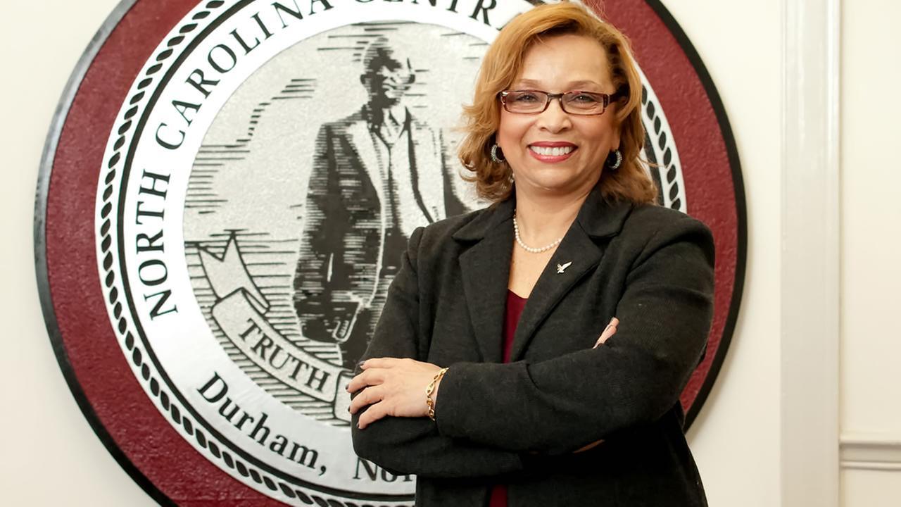 North Carolina Central University Chancellor Debra Saunders-White