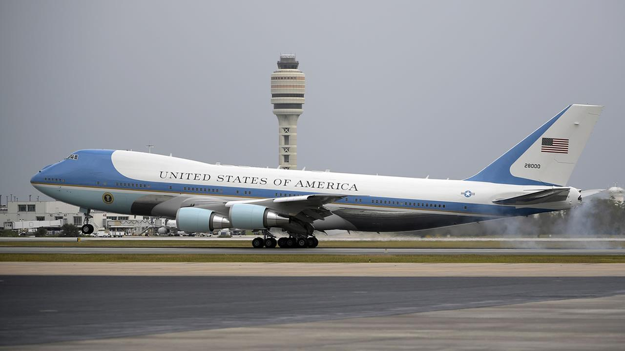 Air Force One (AP Photo/Phelan M. Ebenhack)