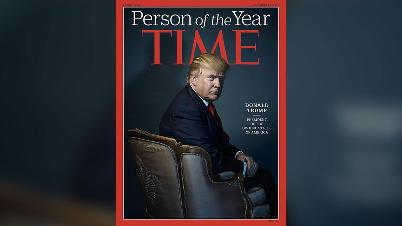 Times Person of the Year cover features Donald Trump