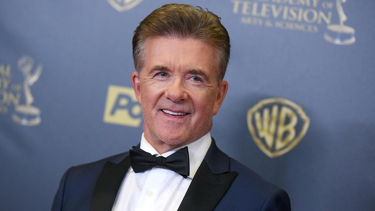 Alan Thicke is seen in 2015 at the 42nd annual Daytime Emmy Awards,