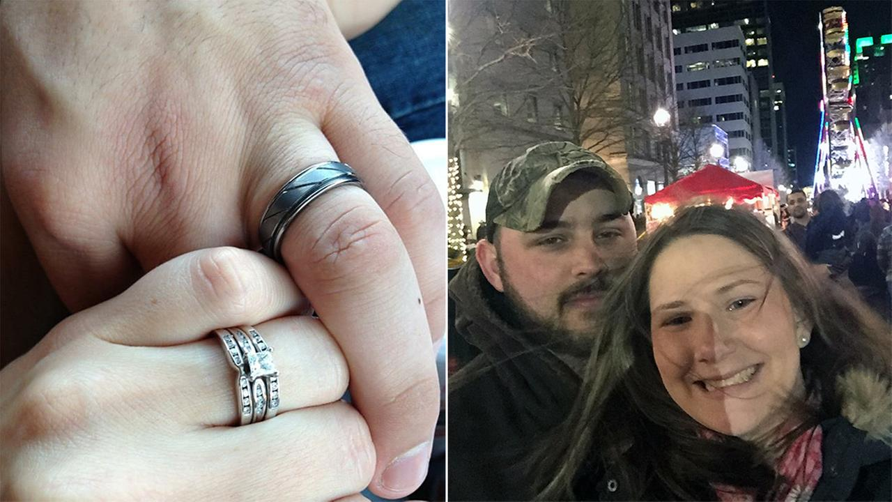 Devon Wilkins hopes somehow her husbands wedding ring will turn up.