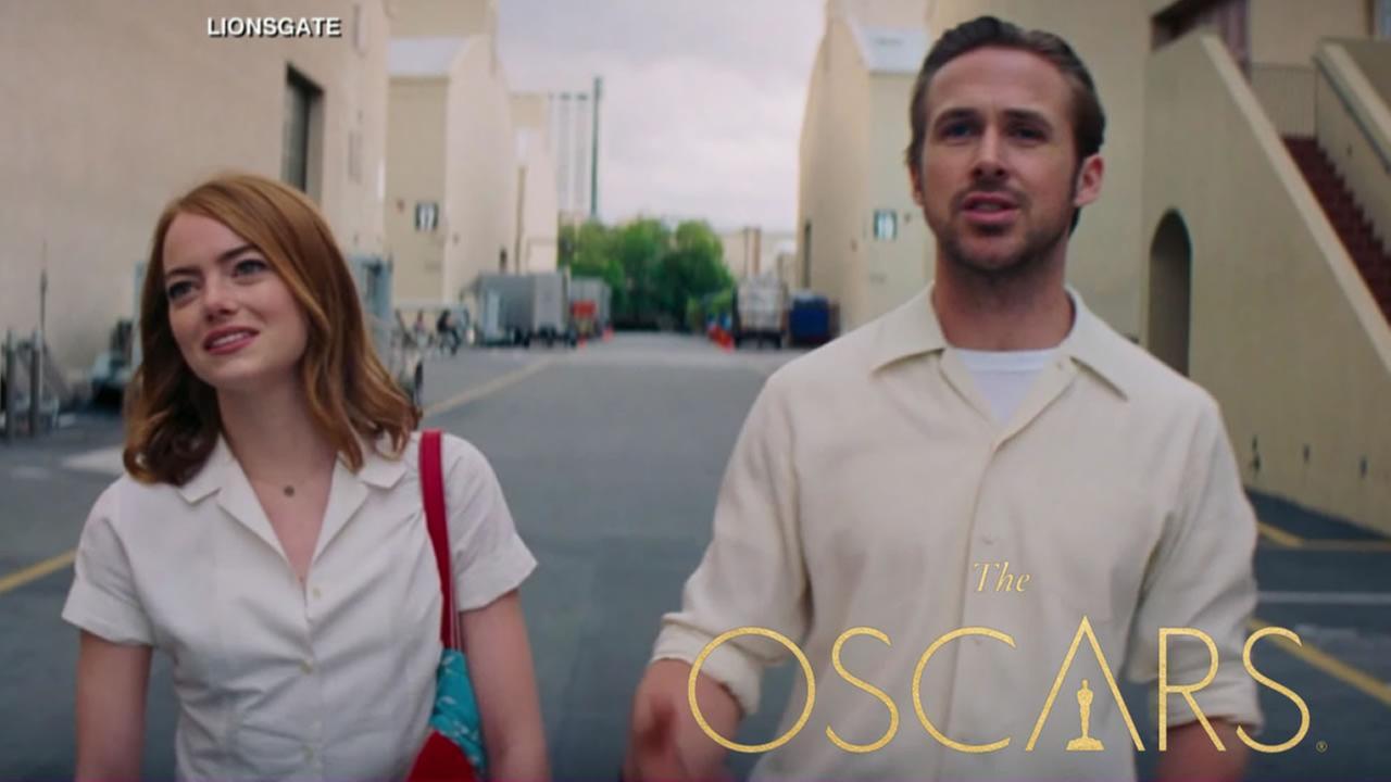 A scene from La La Land