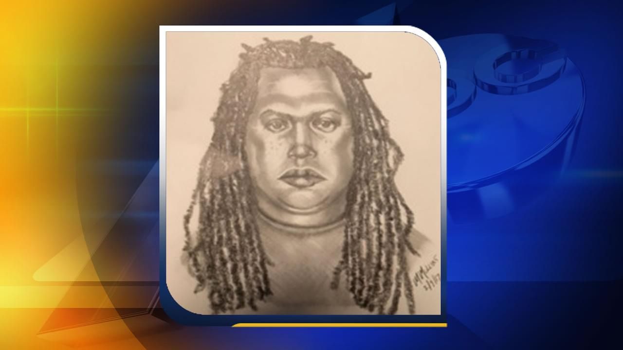 A Raleigh Police Department sketch of the suspect