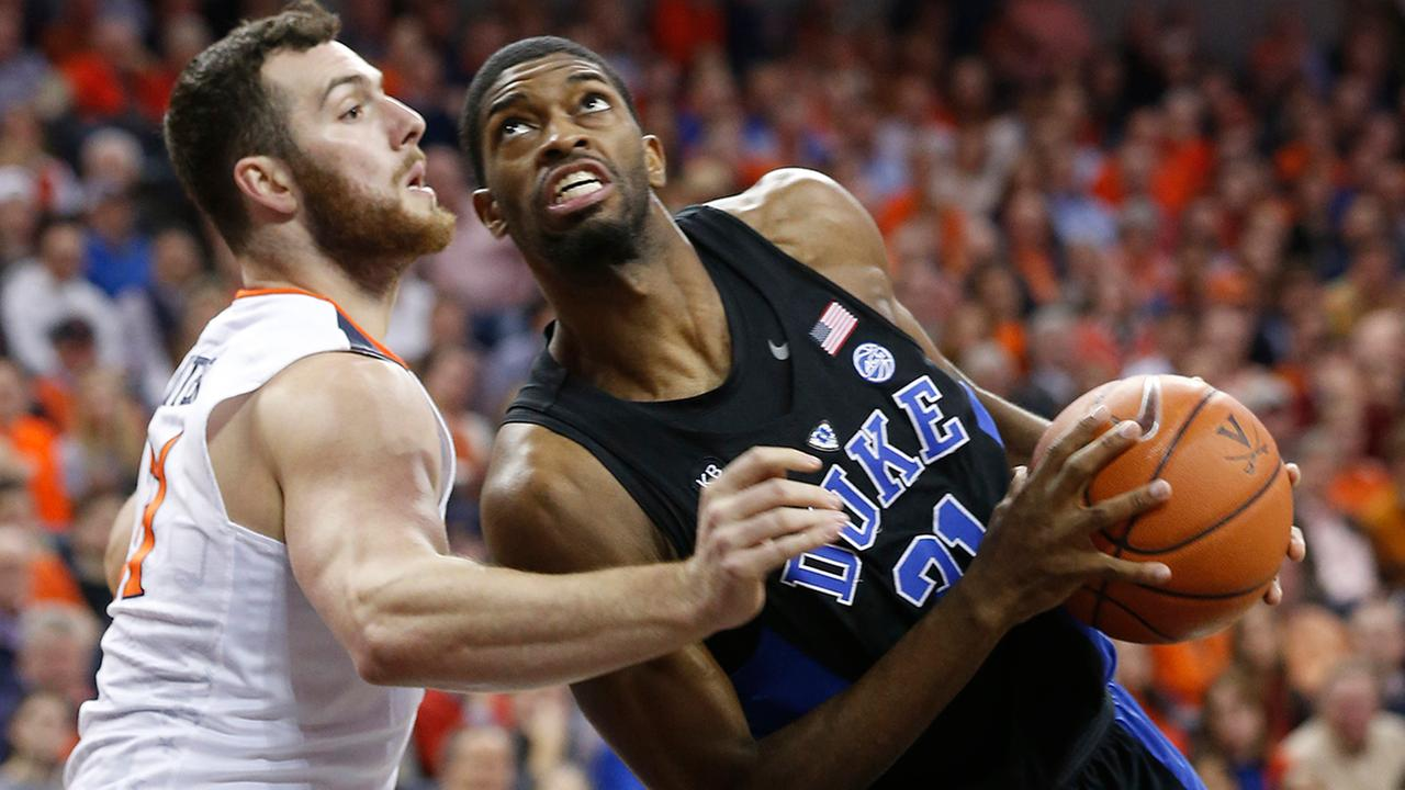 Amile Jefferson and Duke powered past Virginia for a big road ACC win on Wednesday night.