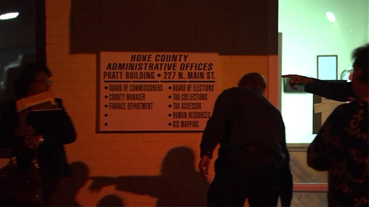 Hoke County has been rocked by an SBI raid Monday on its government offices.