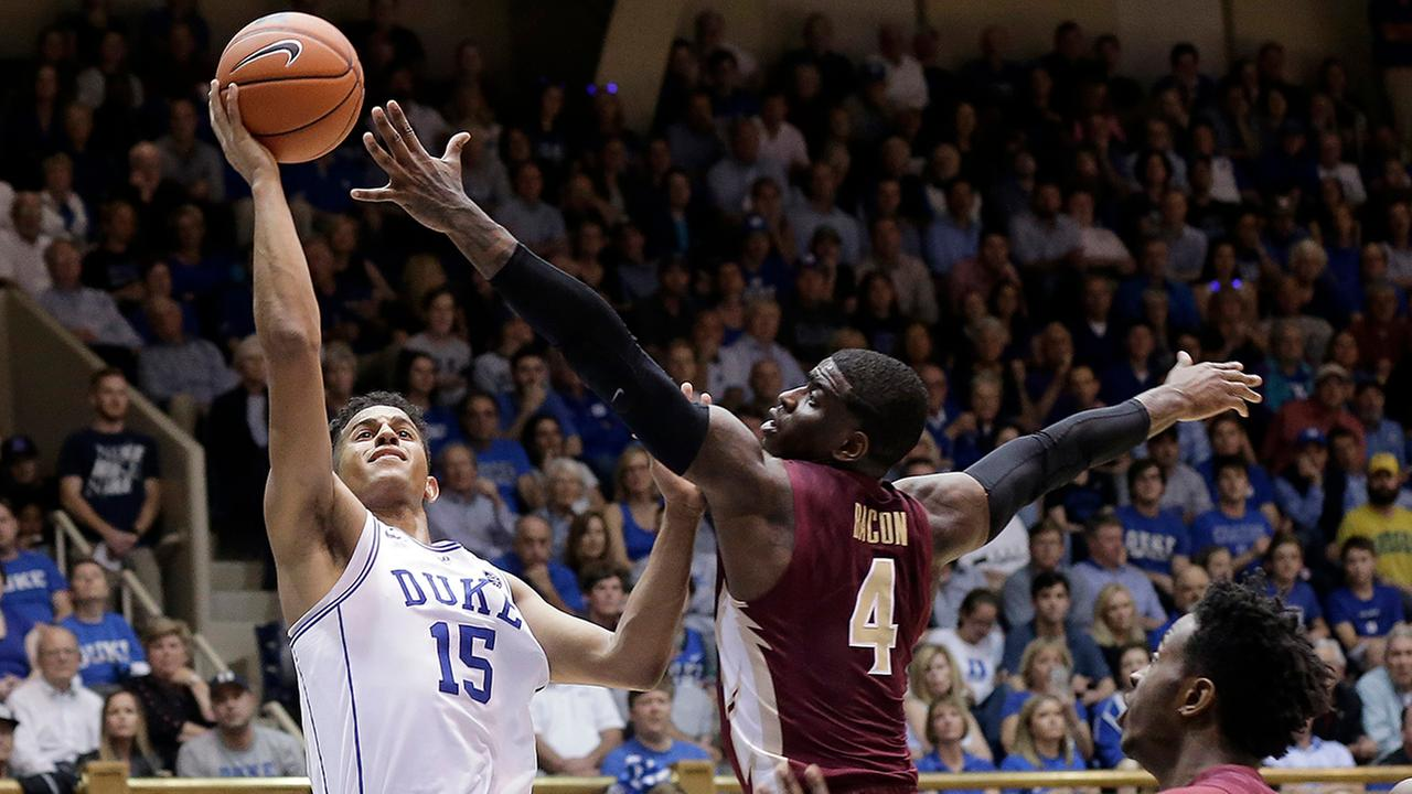 Duke freshman Frank Jackson lit it up on senior night, with 22 points against Florida State.