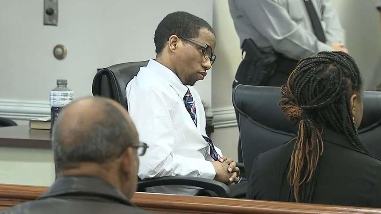 Troy Arrington listens to the verdict