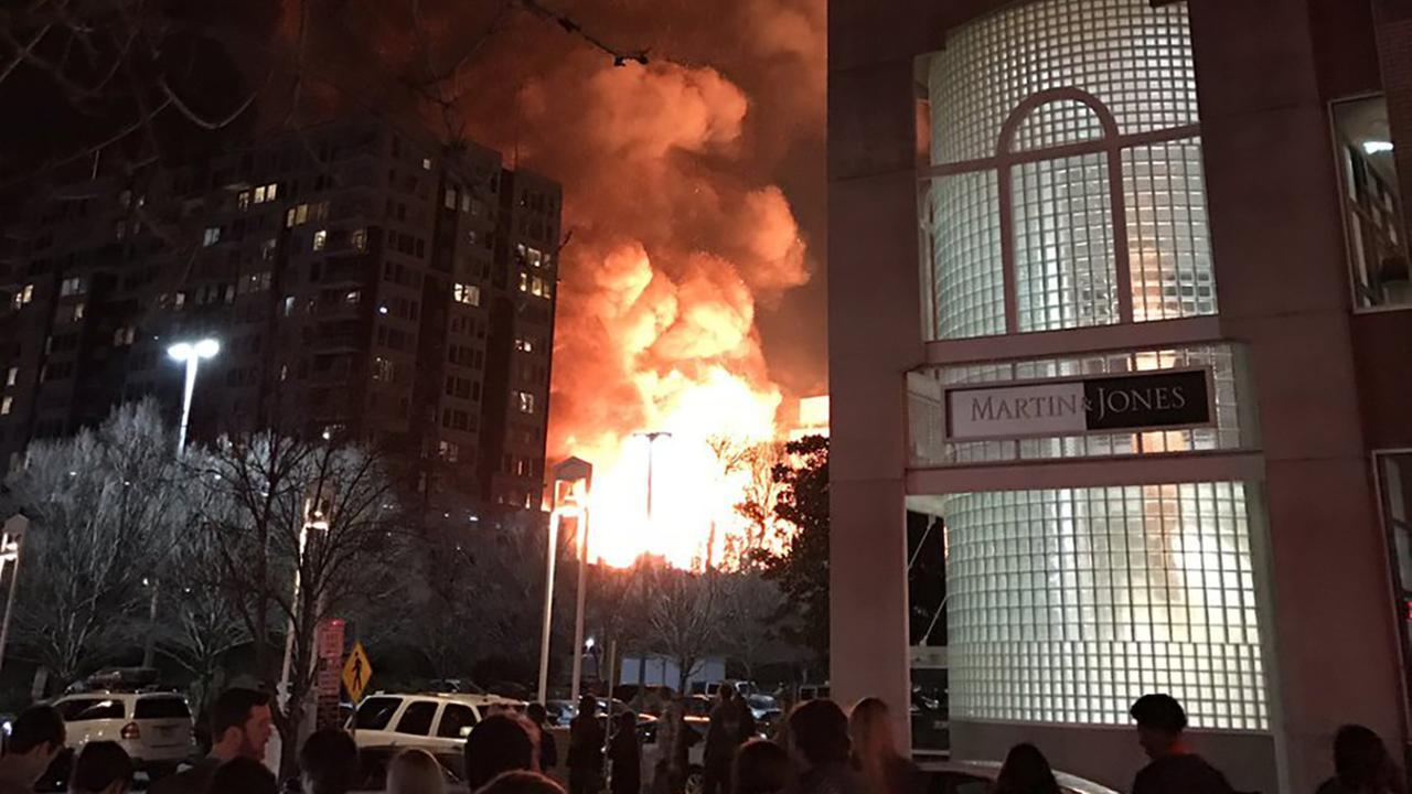 Raleigh downtown firefalknr - ABC11 Eyewitness