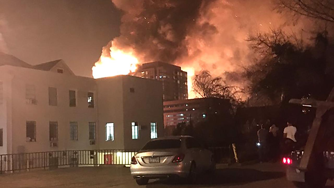 Another view of the massive downtown fire.katiedoes28 - ABC11 Eyewitness