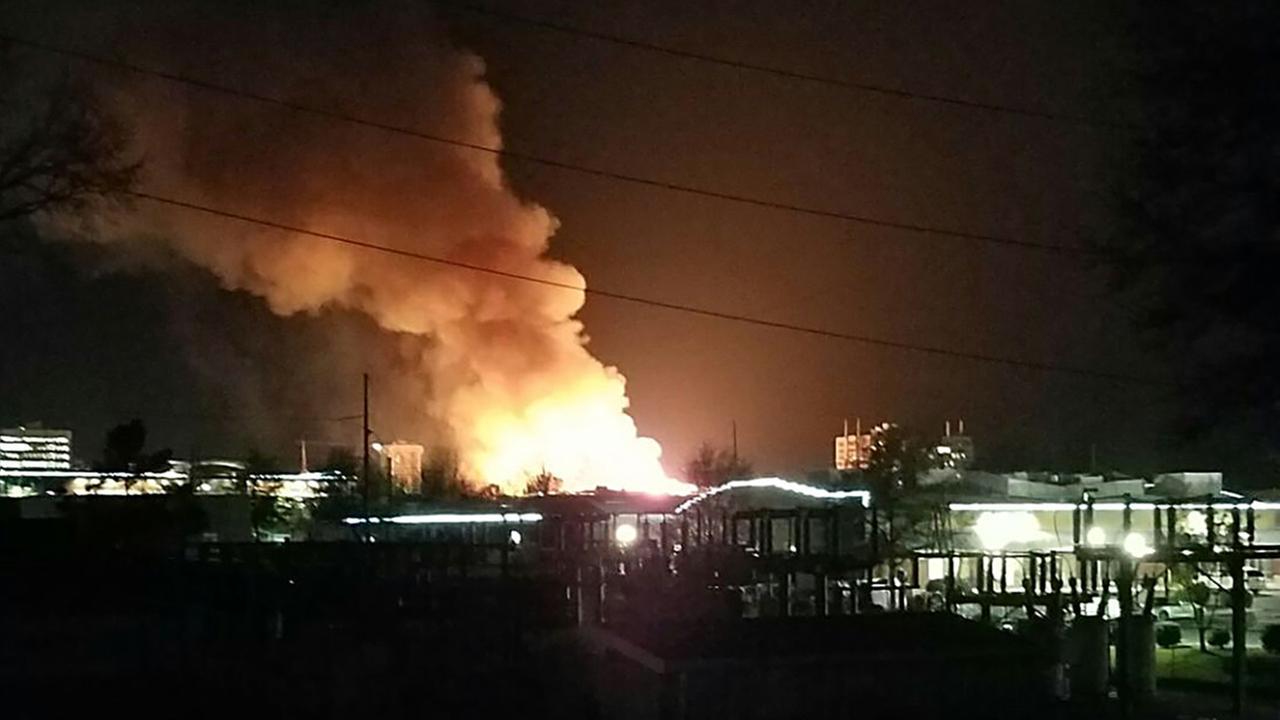 Raleigh  downtown fireABC11 Eyewitness