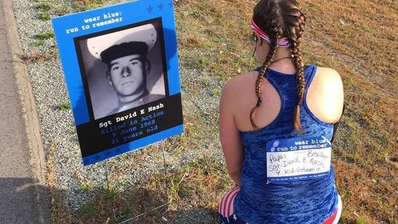 Marliese Graham honors her fallen great uncle