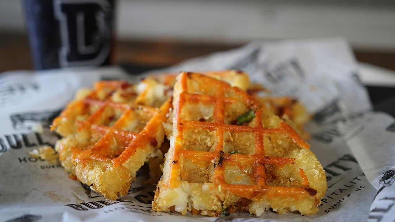 The Tater Tot Waffle is one of eight food specials that was created for 2017 season