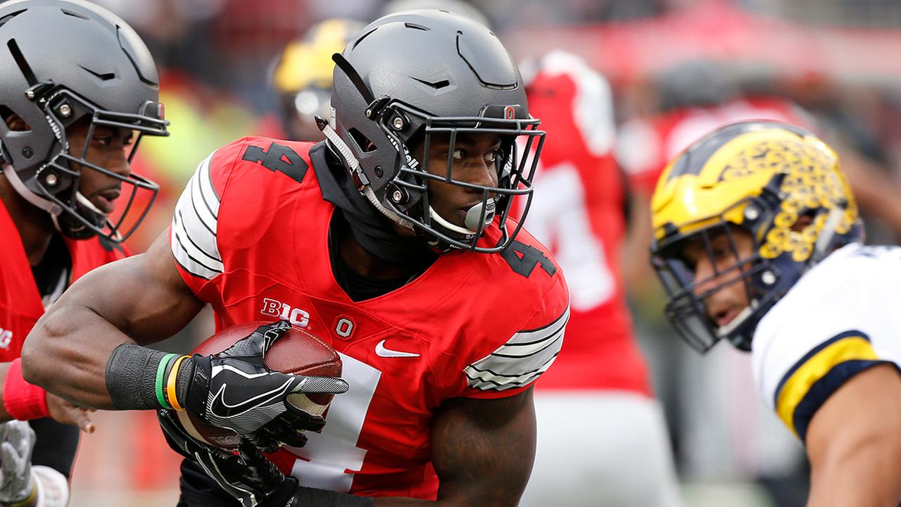 Curtis Samuel was an explosive offensive weapon for Ohio State.