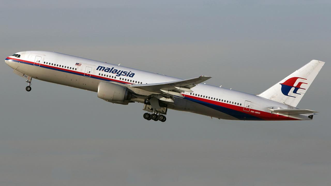 This Nov. 15, 2012 photo shows the Malaysia Airlines Boeing 777-200 with the tail number 9M-MRD that went down in Ukraine. (AP Photo/JoePriesAviation.net)