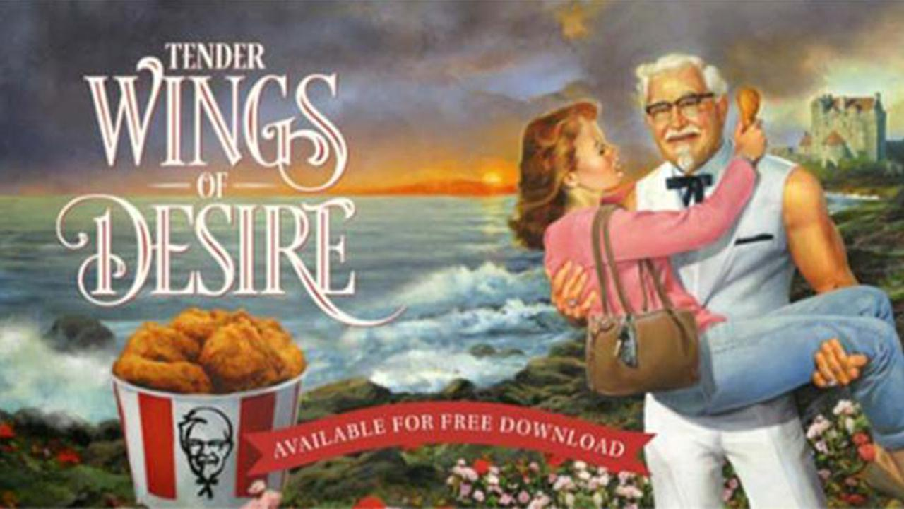 KFC releases romance novel for Mothers Day
