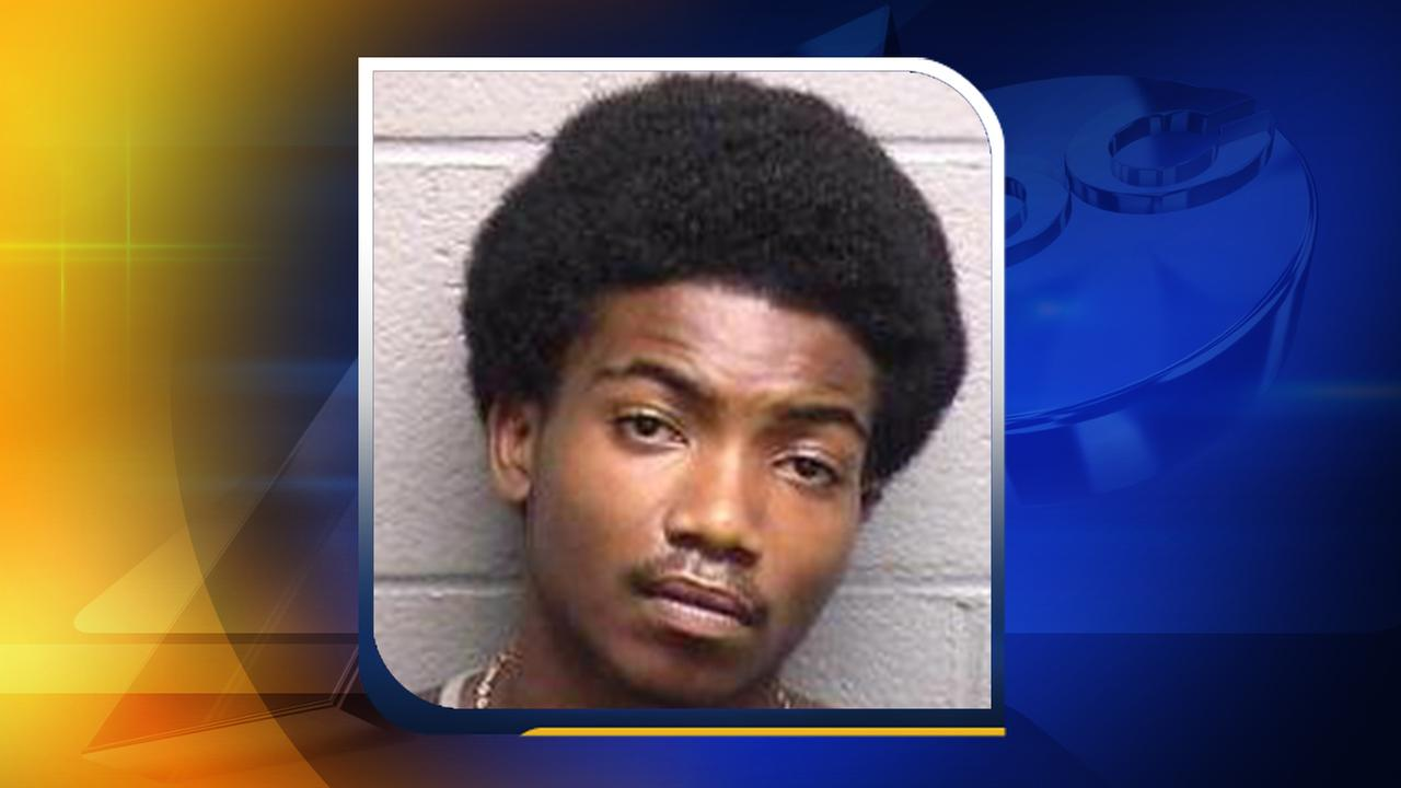 Matthew James Thomas, 20, was arrested and charged with robbery with a dangerous weapon