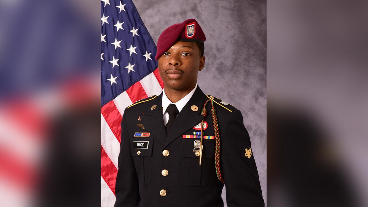82nd Airborne Division Paratrooper Carl Trice