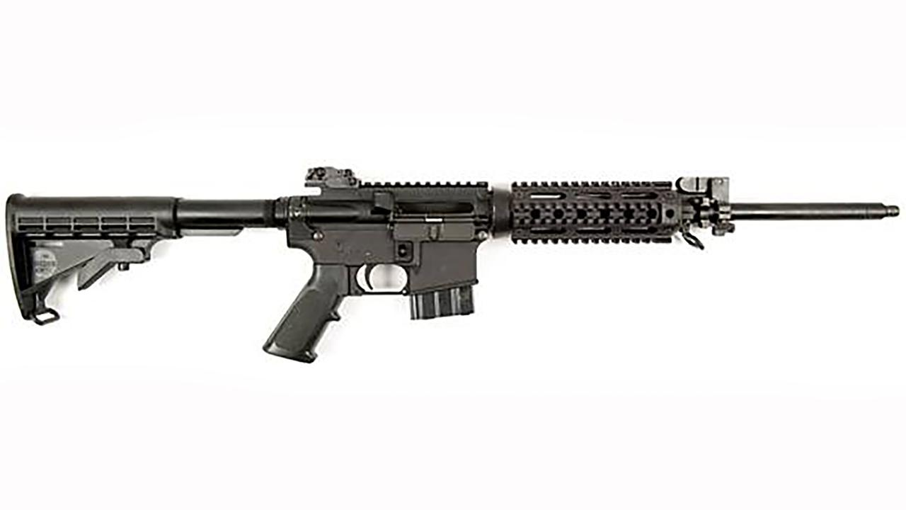 The stolen rifles are very similar to this one, the ATF says.