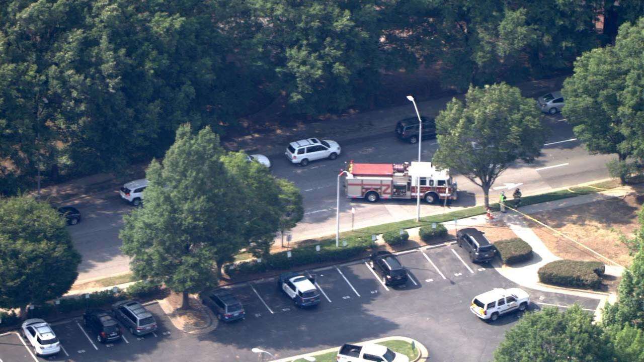 Downtown Raleigh gas leak capped