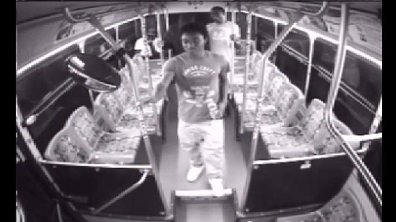 Durham bus surveillance explosion suspects video