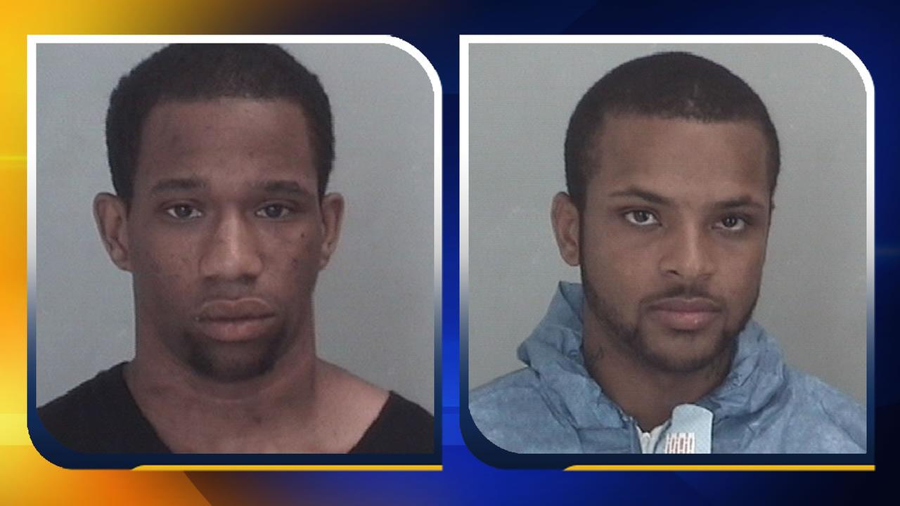 Derick Davis II and Troy Arrington Jr. (images courtesy Chapel Hill Police Department)