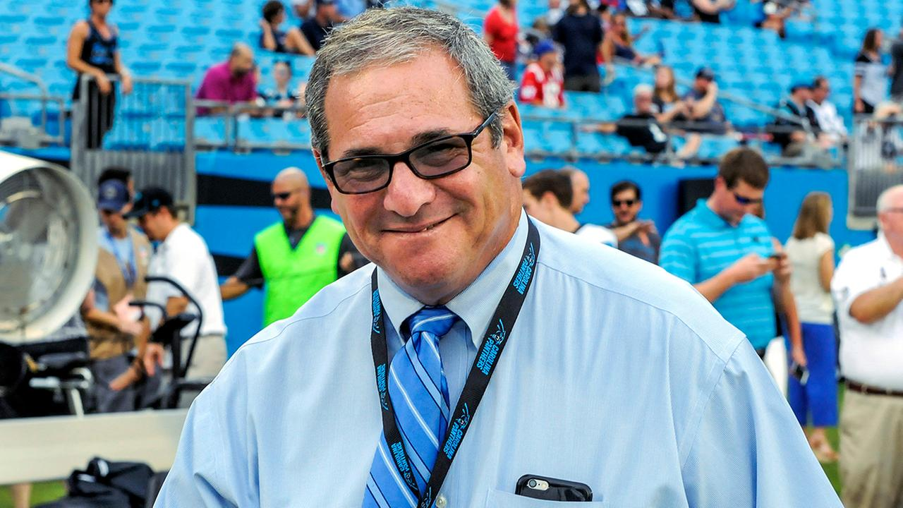 Dave Gettleman won three division titles in four years as GM of the Panthers.