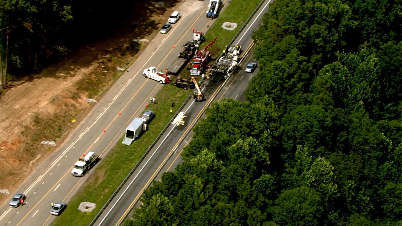 Warren County crash affecting I-85 traffic.
