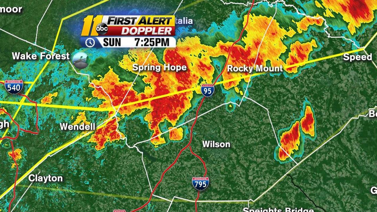 Thunderstorm warnings breakout across the Triangle