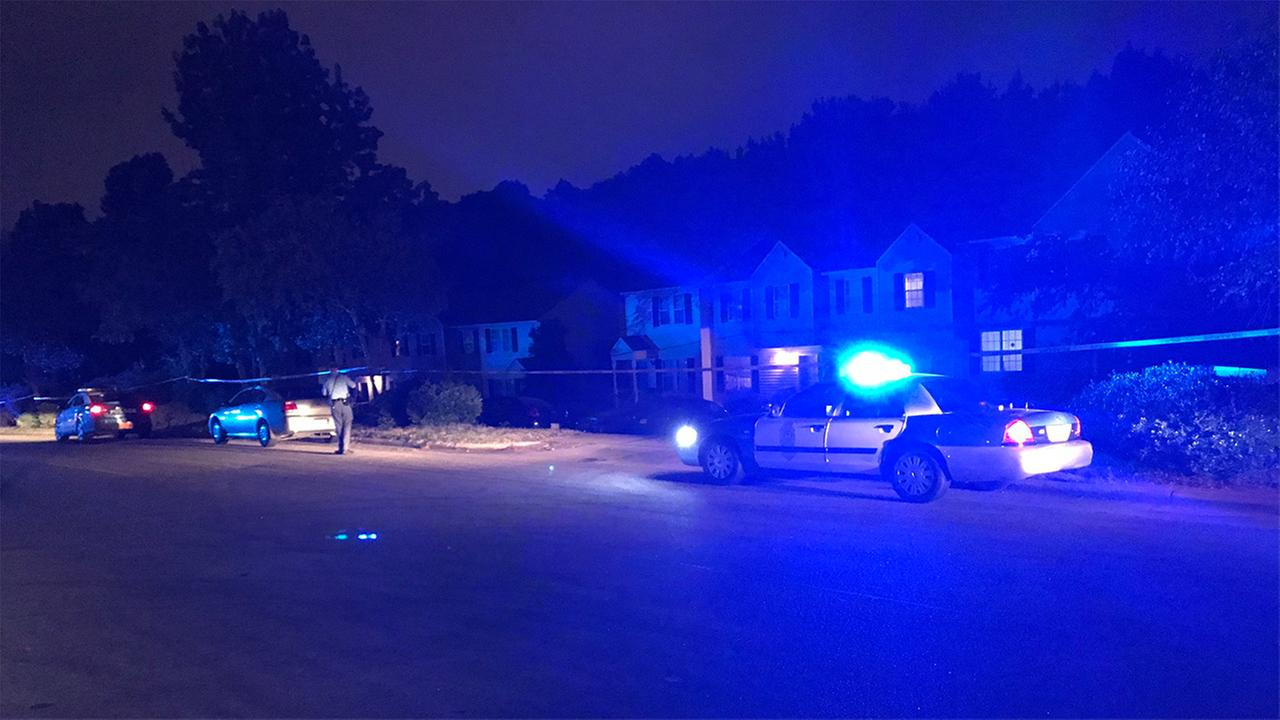 Police respond to a shooting in the Kaplan Drive area.
