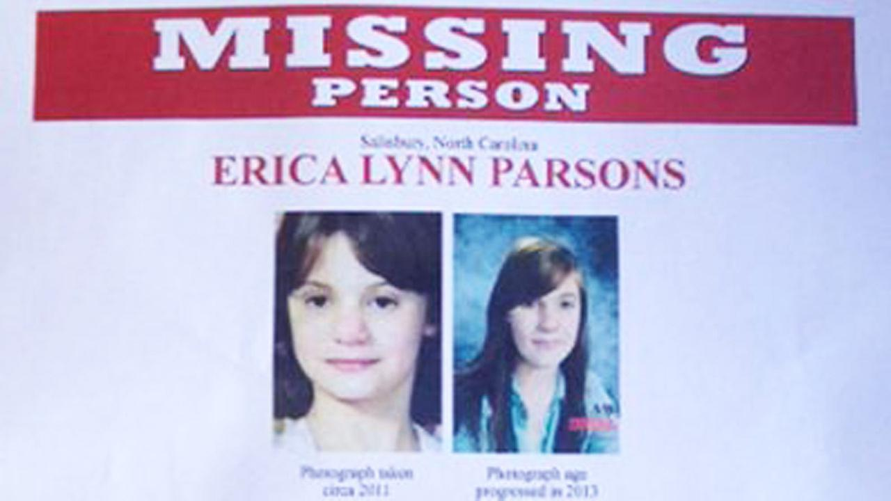 Erica Parson missing sign