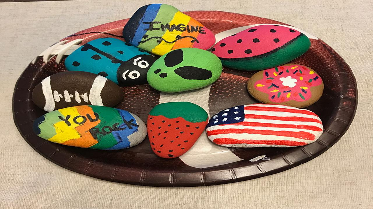 These Kindness Rocks are hidden throughout the Triangle! Have you found one?