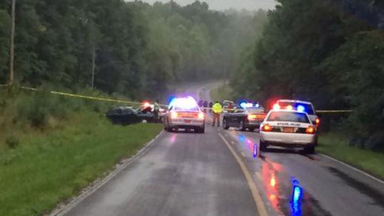 Serious crash on Patterson Road in Durham County