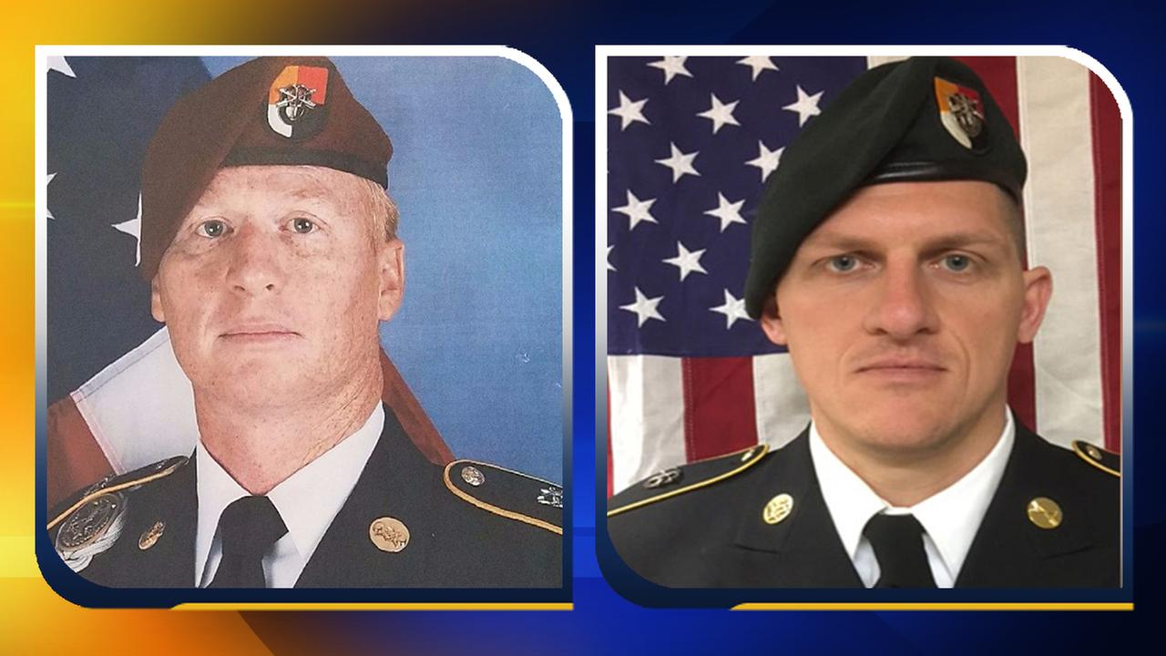 2 soldiers killed in Niger return to Fayetteville