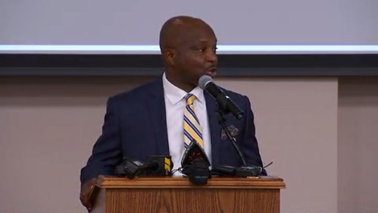 Dr. Pascal Mubenga has been chosen as the new Durham schools superintendent.