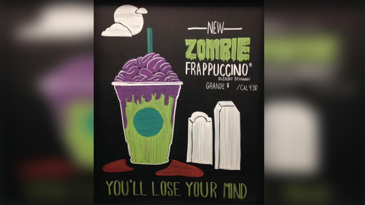 Starbucks may release new Zombie Frap for Halloween