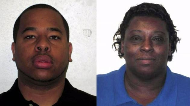 Correctional Officer Justin Smith and Correction Enterprises Manager Veronica Darden