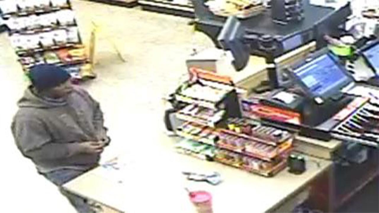 Fayetteville police searching for armed robbery suspect