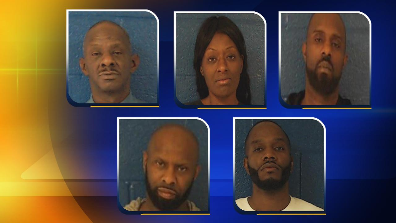 5 arrested in Nash County for allegedly trafficking over 14K bundles of heroin