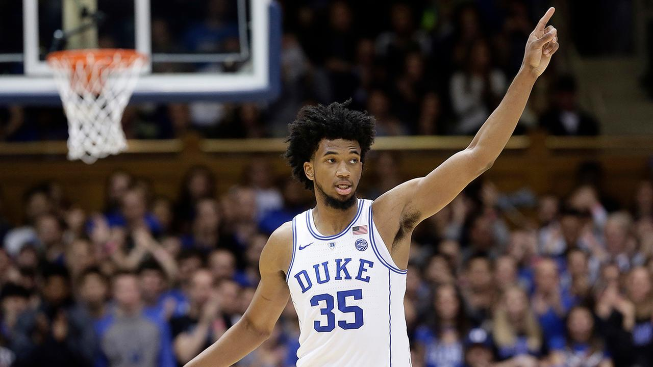 Dukes Marvin Bagley III scored 24 points to lead the Blue Devils past Furman.