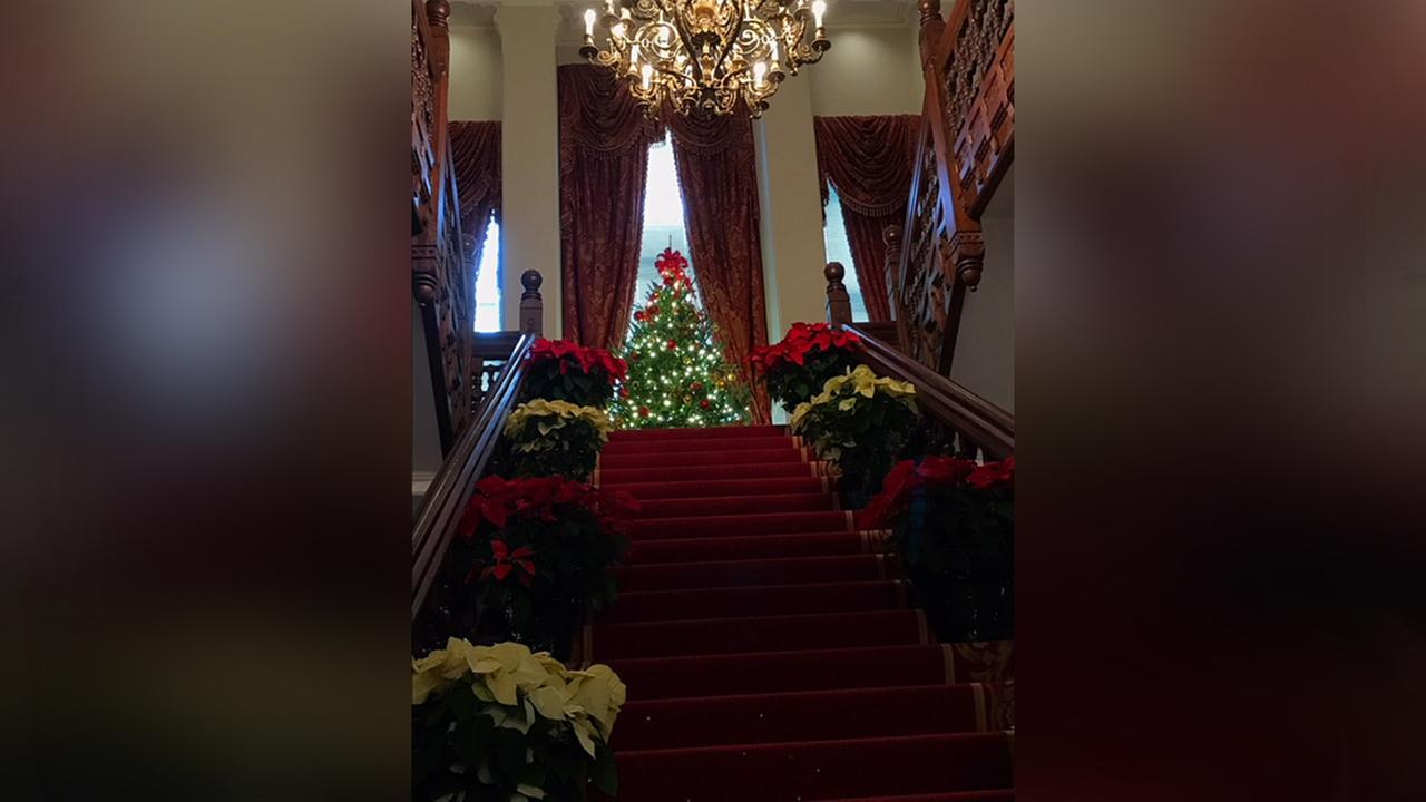 The Governors Mansion has decked their halls