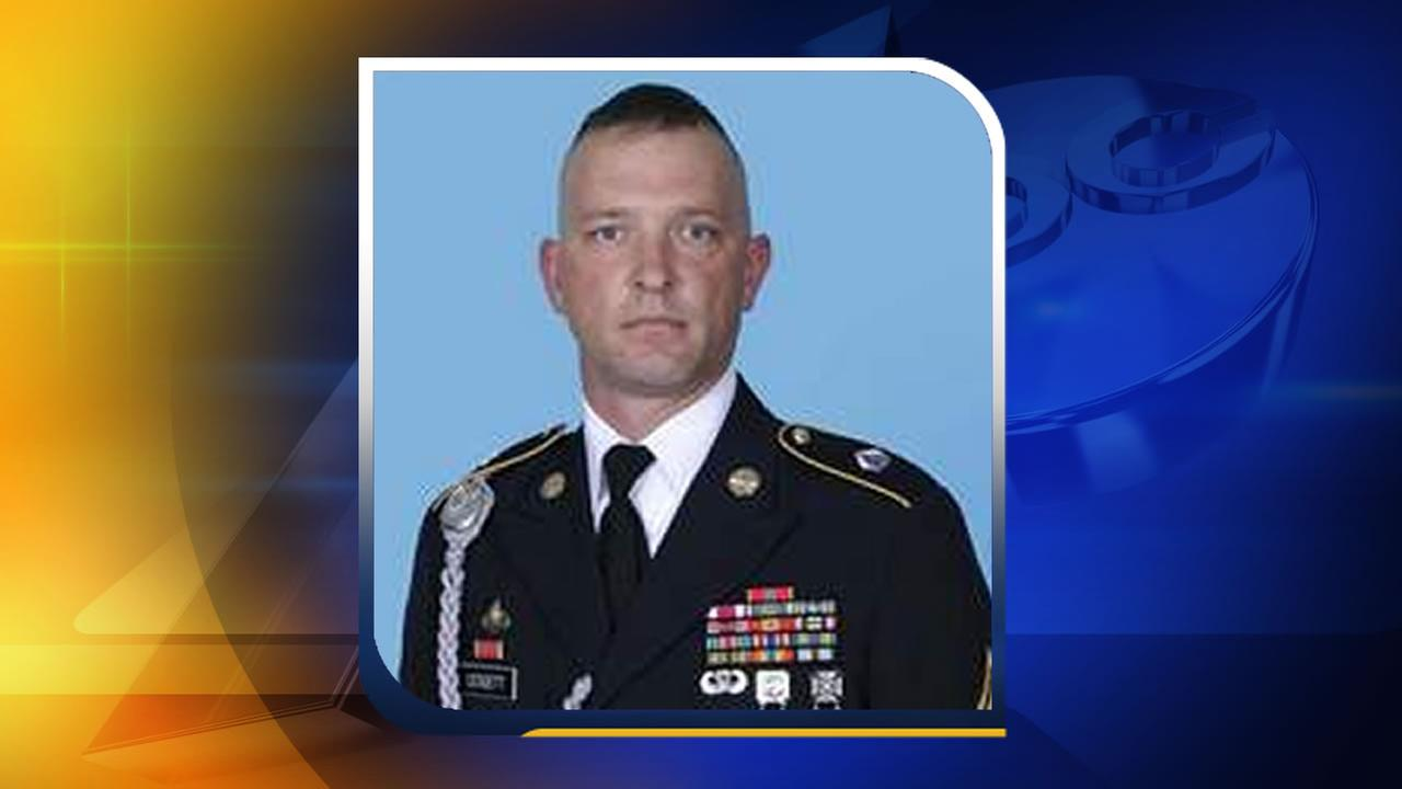 Sgt. 1st Class Matthew I. Leggett