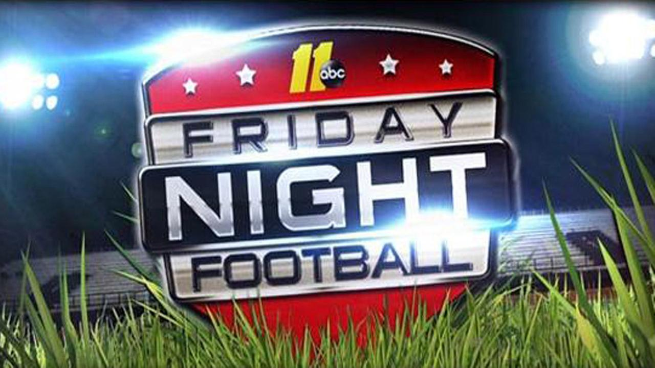 Friday night football generic graphic